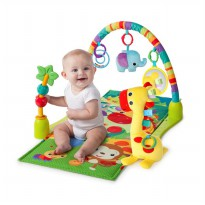 Bright Starts 4 In 1 Jungle Discovery Activity Gym - Multi Colour