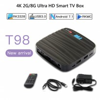 Android 7.1 TV BOX Ram 2GB T98