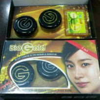 Paket Bio gold Whitening Cream BPOM 3 in 1 (3in1)
