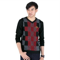 Sweater pria/sweater distro priaCatenzo ZM 081 Hitam