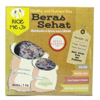 Beras Blended For Diet &Diabet Organik Rice Me Up 1 kg