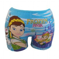 Fantasia Boxer Anak Frozen Fever - Blue