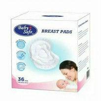 Baby Safe Breast Pads Isi 36PCS