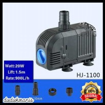 Pompa Air Aerator Aquarium Submersible Pump Fish Tank 20W HOB-368