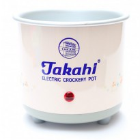 Takahi Slow Cooker 0.7 L Sparepart Body Only - Merah Muda