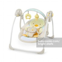 Bright Starts Soothe and Delight Portable Swing - Quacks & Cuddles