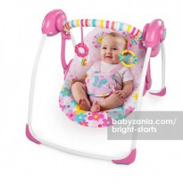 Bright Starts Portable Swing - Butterfly Cut Out