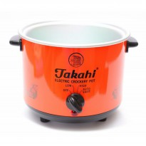 Takahi Slow Cooker 1.2 L Sparepart Body Only - Merah