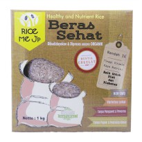 Beras Coklat Organik Rice Me Up 1 kg