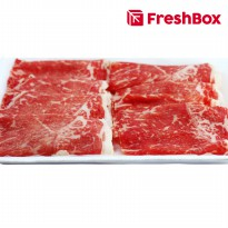 Daging Striploin MB 6 Yakiniku 300 gr FreshBox