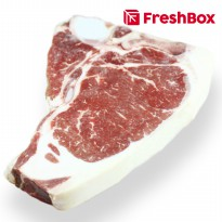 Daging T Bone US Angus Prime 400 - 500 gr FreshBox