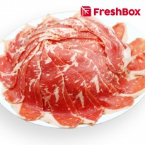Daging Striploin MB 3 Shabu 300gr FreshBox