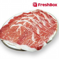 Daging Striploin MB 6 Shabu 300 gr FreshBox