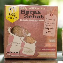Beras Coklat Organik Rice Me Up 2 kg