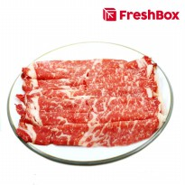 Daging Rib Eye MB 7 Shabu 300 gr FreshBox