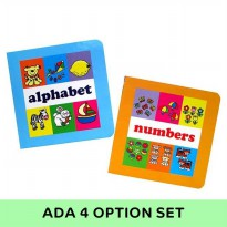 Two Board Books Set Early Learning