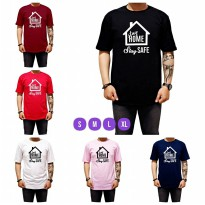Kaos Distro Stay Home Stay Safe al