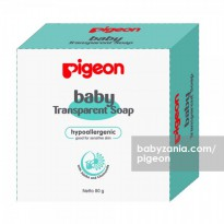 Pigeon Baby Transparent Soap 80 gr