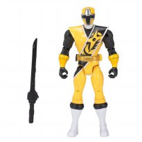 Bandai Power Rangers Ninja Steel Yellow Ranger Action Hero Figure 13 cm - Kuning
