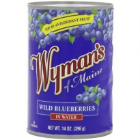 [poledit] Wyman`s Wymans Wild Blueberries in Water, 14-Ounce Can (Pack of 4) (T2)/14119533