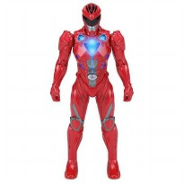 Bandai Power Rangers Morphin Power Red Ranger Light Figure 18 cm - Merah
