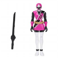 Bandai Power Rangers Ninja Steel Pink Ranger Action Hero Figure 13 cm - Pink