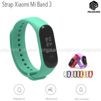 Strap Silicone Xiaomi Mi Band 3 - Green Mint