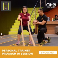 House of Metamorfit Personal Trainer Program 10 Sessions