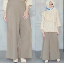 (Star Product) [Pants Carela Mocca SW] celana wanita balotelly mocca