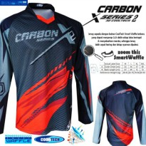 Pakaian Sepeda Jersey sepeda STR Carbon Cooltech Waffle