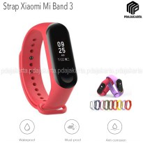 Strap Silicone Xiaomi Mi Band 3 - Red