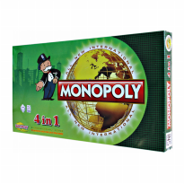 MAINAN MONOPOLY 4 IN 1 - BEST BUY