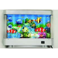 LIMITED Hiasan Aquarium Berjalan - Seabed World Lamp (Lighting Move) Aquarium