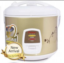 Cosmos Rice Cooker 3in1- 1.8 Liter CRJ