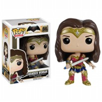 #Super Deformed Figure Funko Pop! Wonder Woman (Batman v Superman: Dawn of Justice)