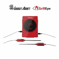GrillEye GE0001 Smart Bluetooth Grilling and Smoking Thermometer