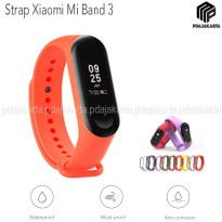 Strap Silicone Xiaomi Mi Band 3 - Orange