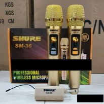Mic Wireless SHURE SM GOLD EDITION