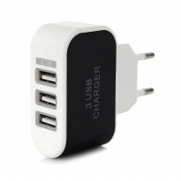 [SALEEE] Adaptor Charger 3 USB output 3.1A | fast charging Batok Cas Carger Adapter