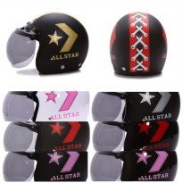 [Helm Dewasa] WTO Helmet Retro Bogo - All Star