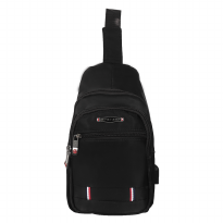 Chest Bag Polo Design US 801-26 Black