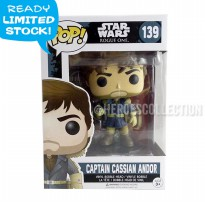 SALE Funko Pop Star Wars Rogue One Captain Cassian Andor Action Figure