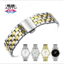 [globalbuy] AUTO Watch Band Watch Strap Solid 316L Stainless Steel Watchbands For MIDO BAR/2913635