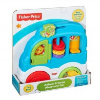Fisher Price Animal Friends Discovery Car - Multi Colour