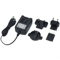 Adaptor DVE 5V 2A Micro USB US EU UK Plug - Black