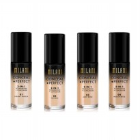 MILANI CONCEAL+PERFECT 2in1 FOUNDATION+CONCEALER