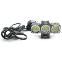 TrustFire LED Bicycle Light 3x Cree XM-L2 1200 Lumens - TR-D012 - Black