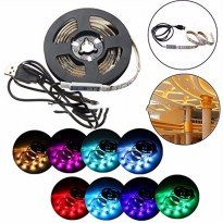Mood Light Led Strip 5050 RGB 2M with USB Controller - White