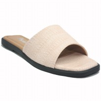 Dr. Kevin Women Flat Sandals 571-049(2 Warna) Black & Salem