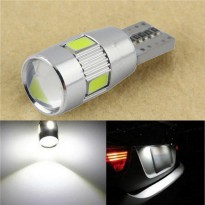 Lampu Mobil LED T10 W5W SMD 5630 2PCS - White